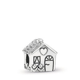 Home Sweet Home Charm, Sterling-Silber, Kein anderes Material, Keine Farbe, Keine Steine - PANDORA - #791267