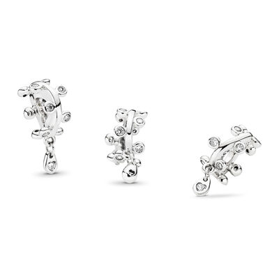Chandelier Droplets Charm, Sterling-Silber, Kein anderes Material, Keine Farbe, Cubic Zirkonia - PANDORA - #797106CZ