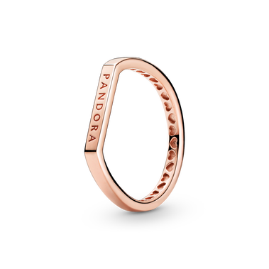 Wundervoller Logo Stacking-Ring