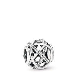 Galaxie Charm, Sterling-Silber, Kein anderes Material, Keine Farbe, Cubic Zirkonia - PANDORA - #791388CZ