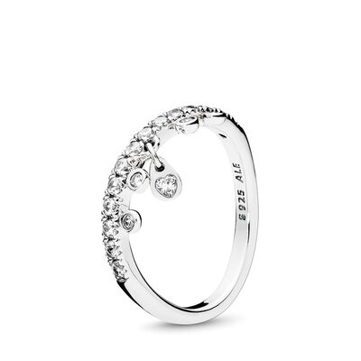 PANDORA Chandelier Droplets Ring