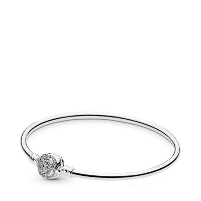 Disney, Armband Belle´s magische Rose, Sterling-Silber, Kein anderes Material, Keine Farbe, Cubic Zirkonia - PANDORA - #590748CZ-19