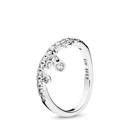 Chandelier Droplets Ring, Sterling-Silber, Kein anderes Material, Keine Farbe, Cubic Zirkonia - PANDORA - #197108CZ