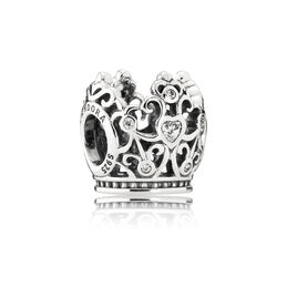 Disney, Princess Crown, Sterling-Silber, Kein anderes Material, Keine Farbe, Cubic Zirkonia - PANDORA - #791580CZ