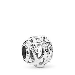 Dreamy Dragonfly Charm, Sterling-Silber, Kein anderes Material, Keine Farbe, Cubic Zirkonia - PANDORA - #797025CZ