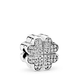 Petals of Love Charm, Sterling-Silber, Kein anderes Material, Keine Farbe, Cubic Zirkonia - PANDORA - #791805CZ