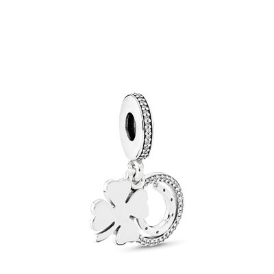 Lucky Day Charm, Sterling-Silber, Kein anderes Material, Keine Farbe, Cubic Zirkonia - PANDORA - #792089CZ