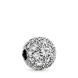 Clip, Himmels-Sterne, Sterling-Silber, Kein anderes Material, Keine Farbe, Cubic Zirkonia - PANDORA - #791286CZ