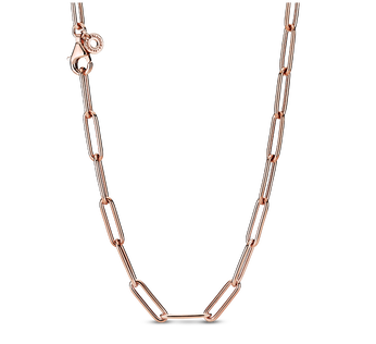 Long Link Cable Chain Halskette
