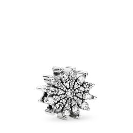 Eiskristall Charm, Sterling-Silber, Kein anderes Material, Keine Farbe, Cubic Zirkonia - PANDORA - #791764CZ