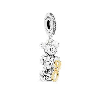 Disney, Mickey Mouse 90th Anniversary Charm-Anhänger