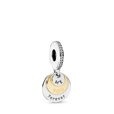 You & Me Forever Charm