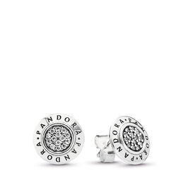 PANDORA Ohrstecker, Sterling-Silber, Kein anderes Material, Keine Farbe, Cubic Zirkonia - PANDORA - #290559CZ