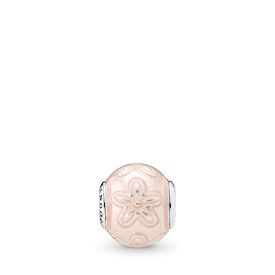 HAPPINESS ESSENCE Charm, Sterling-Silber, Mixed Material, Pink, Keine Steine - PANDORA - #796087EN141
