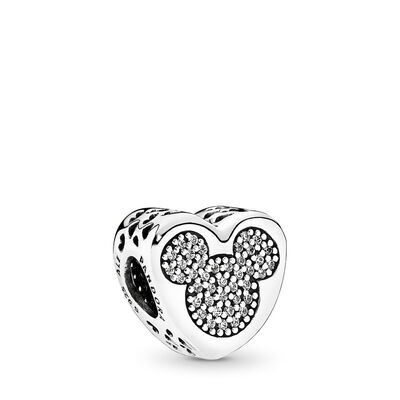 Disney, Micky & Minnie Wahre Liebe, Sterling-Silber, Kein anderes Material, Keine Farbe, Cubic Zirkonia - PANDORA - #792050CZ