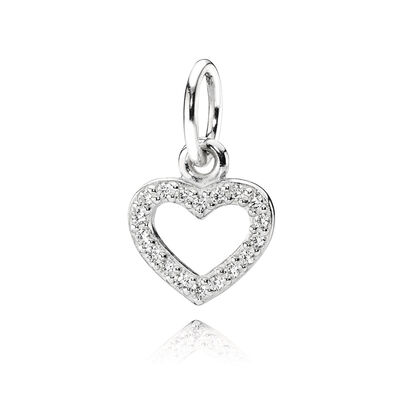Anhänger, Sterling-Silber, Cubic Zirkonia, Sterling-Silber, Kein anderes Material, Keine Farbe, Cubic Zirkonia - PANDORA - #390325CZ