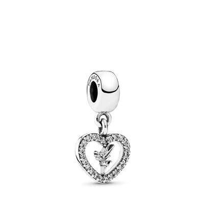 Disney, Liebe Tinkerbell, Sterling-Silber, Kein anderes Material, Keine Farbe, Cubic Zirkonia - PANDORA - #791565CZ