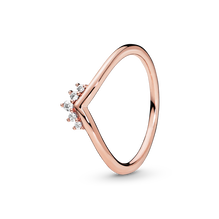 Diadem-Wishbone Ring