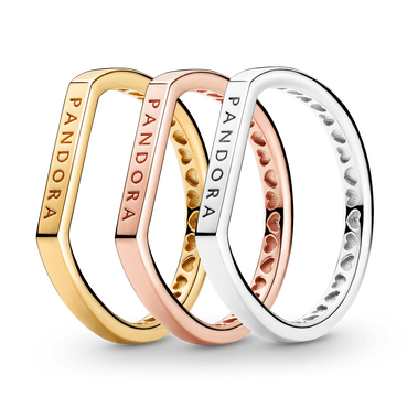 Tricolor Stacking-Ring Set