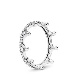 Enchanted Crown Ring, Sterling-Silber, Kein anderes Material, Keine Farbe, Cubic Zirkonia - PANDORA - #197087CZ