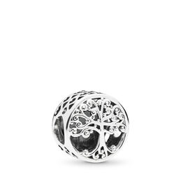 Family Roots Charm, Sterling-Silber, Kein anderes Material, Keine Farbe, Keine Steine - PANDORA - #797590