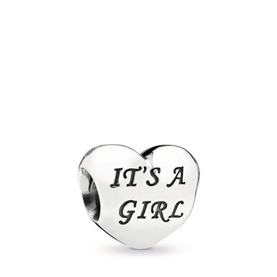Baby-Charm Mädchen, Sterling-Silber, Kein anderes Material, Pink, Cubic Zirkonia - PANDORA - #791280PCZ