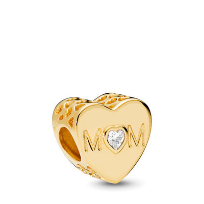 Mother Heart Charm