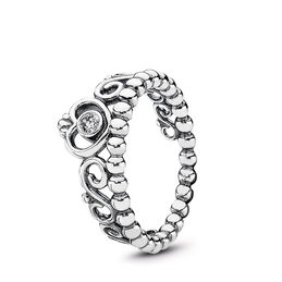 Diadem-Ring, Sterling-Silber, Kein anderes Material, Keine Farbe, Cubic Zirkonia - PANDORA - #190880CZ
