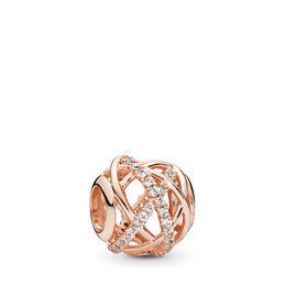 Galaxie Charm, PANDORA Rose, Kein anderes Material, Keine Farbe, Cubic Zirkonia - PANDORA - #781388CZ