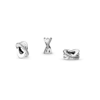 Galaxie Charm, Sterling-Silber, Kein anderes Material, Keine Farbe, Cubic Zirkonia - PANDORA - #791994CZ