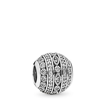 Funkelnde Formen Charm, Sterling-Silber, Kein anderes Material, Keine Farbe, Cubic Zirkonia - PANDORA - #796243CZ