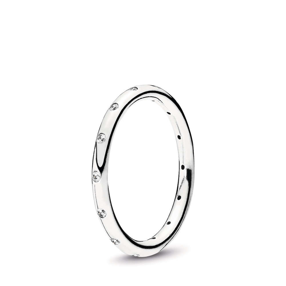 Simple Sparkling Band Ring