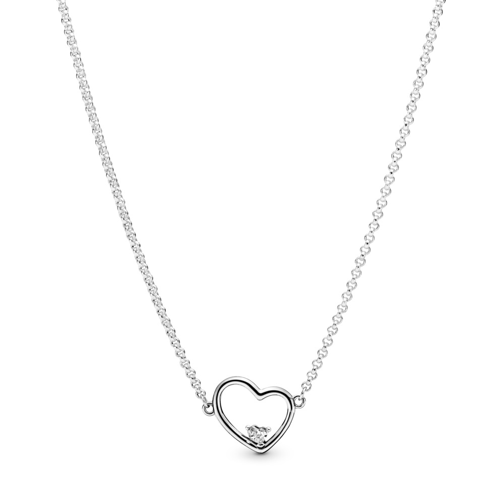 Asymmetric Heart of Love Kette