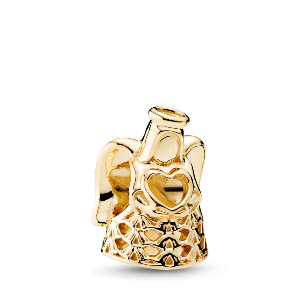 Gold-Engel Charm